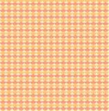 Orange ginkgo biloba leaves seamless pattern. Background seamless in orange color. Vector illustration Royalty Free Stock Photography