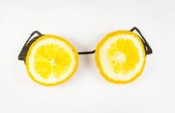 Orange Gläser lizenzfreie stockbilder