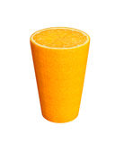 Orange Glas Stockfoto