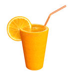 Orange Glas 2 Lizenzfreie Stockfotografie