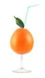 Orange glass Royalty Free Stock Photos