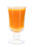 orange glass fruktsaft single Royaltyfri Foto