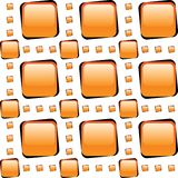 Orange glass tiles mosaic Royalty Free Stock Photo