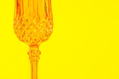 Orange glassy ornamental background Royalty Free Stock Images