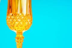 Orange glassy patternal background Stock Photos