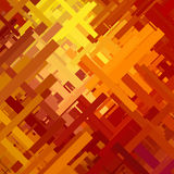 Orange Glitch Background Royalty Free Stock Image