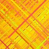 Orange Glitch Background Royalty Free Stock Photos
