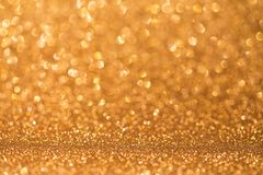 Orange glitter light stock photography