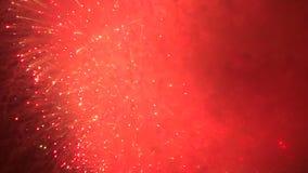 Orange Glow Fireworks
