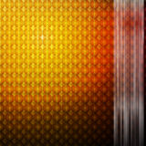 Orange glowing mosaic abstract background Royalty Free Stock Photos