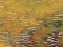Orange grün-blaues Rot des abstrakten Plasmas deckt Hintergrund mit Ziegeln Stockfoto