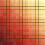 Orange Gradient Tiles Background Texture Stock Photo