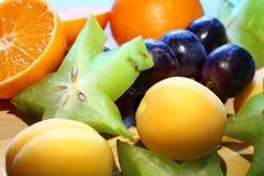 Orange Grape Starfruit Stock Photos