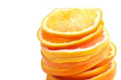 Orange and grapefruit Royalty Free Stock Image