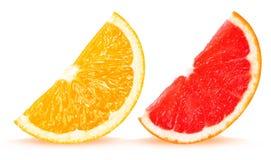 Orange and grapefruit Royalty Free Stock Photography