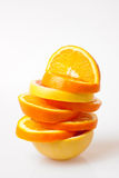 Orange and grapefruit slices Royalty Free Stock Image