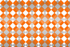 Orange and gray patterns Royalty Free Stock Photos