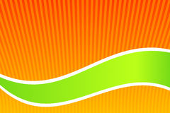Orange and Green Royalty Free Stock Photos