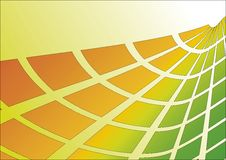 Orange-Green Abstract Background Royalty Free Stock Photos