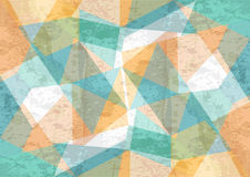 Orange and green background with abstract shapes2 Stock Images