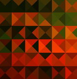Orange and Green Designs. Geometric and Patterns in orange, yellow and green colors Royalty Free Stock Photos