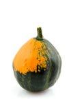 Orange with green gourd Stock Photos