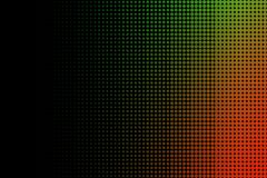 Orange and Green Halftone Abstract Background Royalty Free Stock Photos