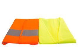 Orange And Green Reflective Vest II Stock Photography