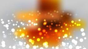 Orange and Grey Blurred Bokeh Background. Beautiful elegant Illustration graphic art design vector illustration
