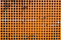 Orange grid Stock Images