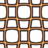 Orange grid background Stock Image
