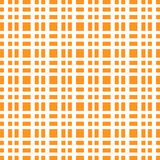 Orange grid white lines chess pattern bright royalty free illustration