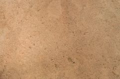 Orange ground used as background and texture. royalty free stock photography