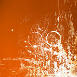 Orange grunge background Royalty Free Stock Images