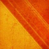 Orange grunge background Stock Image