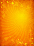 Orange Grunge Background Stock Photo