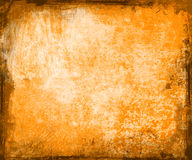 Orange grunge background vector illustration