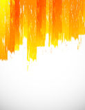 Orange grunge background Stock Photography