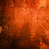 Orange grunge background Stock Images