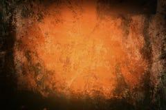 Orange grunge background Stock Images