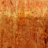 Orange  grunge background. Vector rusty texture. Royalty Free Stock Images