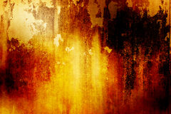 Orange Grunge Background Royalty Free Stock Image