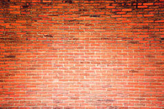 Orange grunge brick wall texture background Stock Images