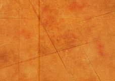 Orange grunge fabric background Royalty Free Stock Images