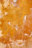 Orange grunge wall background Royalty Free Stock Image