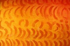 Orange grunge wave pattern Royalty Free Stock Image