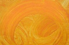 Orange Grungebakgrund Arkivfoto