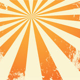 Orange grungy background Stock Images