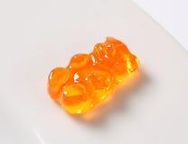 Orange Gummy bear Royalty Free Stock Photo