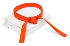 Orange Gurt Stockfotos